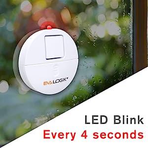 LED warning light indication