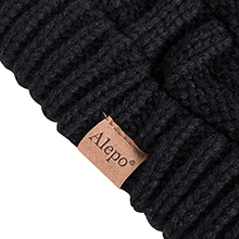 womens beanie with ponytail hole