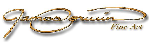 جيمس كوروين غرامة الفنون العلامة التجارية شركة شعار الأمازون راية