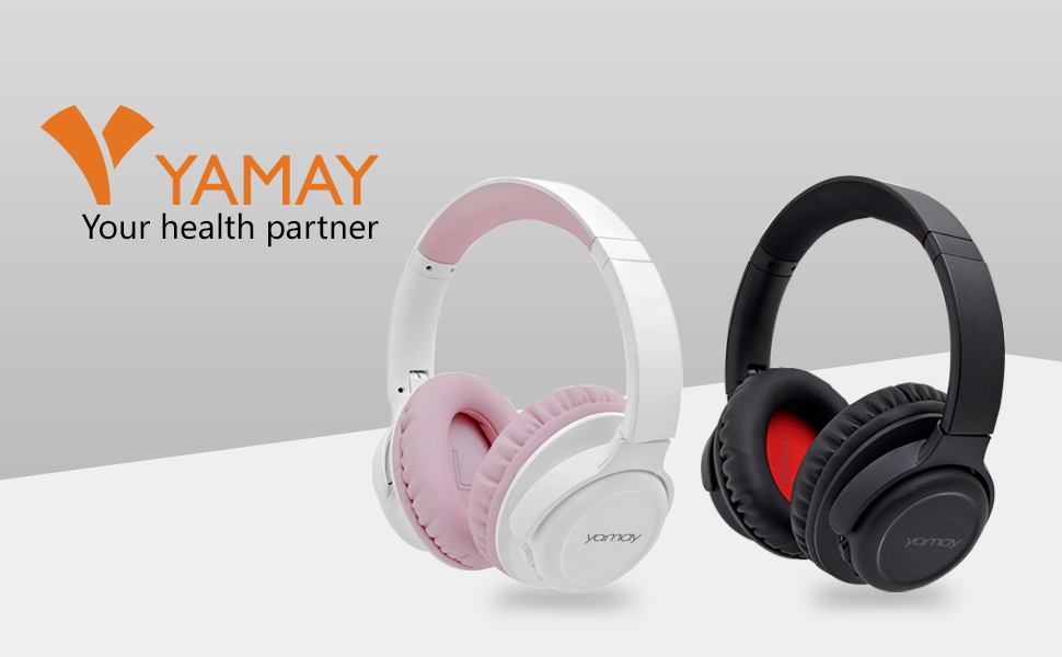 Bluetooth Headphones Over Ear,YAMAY H7 Wireless Headphones Foldable Bluetooth Headset for Cell Phone