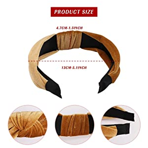 headbands size