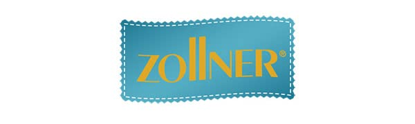 ZOLLNER 4 mullidos Cojines para Silla, 38x38x6 cm, Gris, en Otros Colores