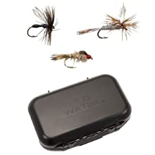 wild water fly fishing flies, small fly box, custom designed fly box