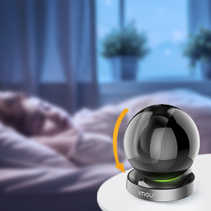 camera surveillance wifi rotative