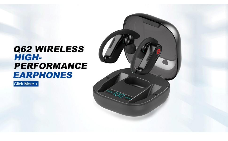 wireless bluetooth headset earphone