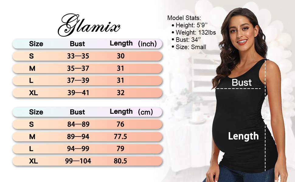 galmix size