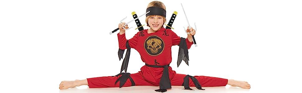 Skeleteen Ninija Warriors Sword Set Halloween