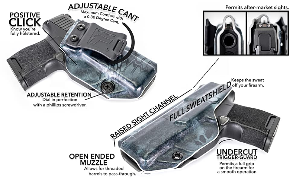 SIG Profile Holster Attributes