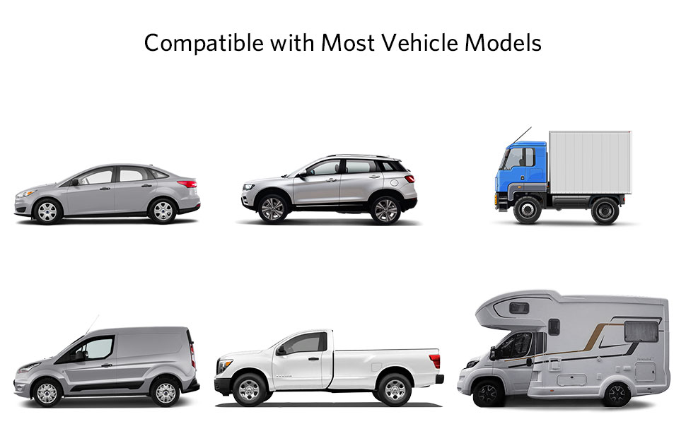 Suitable for most car models