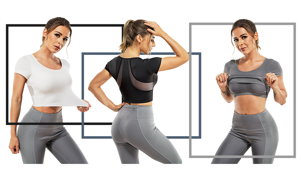 WORKOUT YOGA TOPS