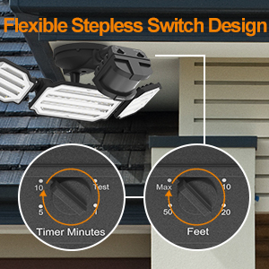 led outdoor motion light, exterior motion sensor light, led motion flood light