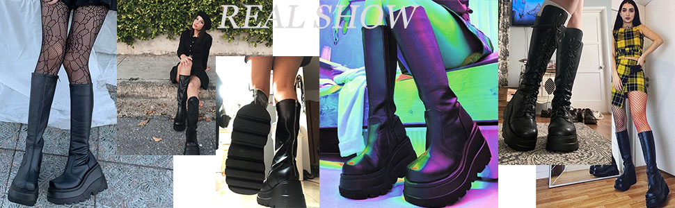 gothic boots