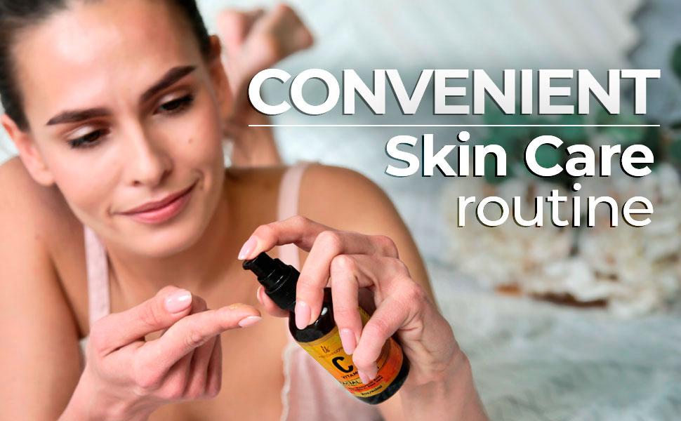 convenient skin care vitamin c