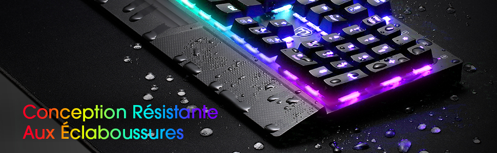 clavier gaming led