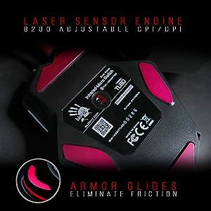 TL80 G pro hero razer kraken V2 apex sim rust gaming mice bloody gaming optical switch LK rgb LED