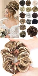 Messy Bun Hair Piece Hair Bun Extensions Hair Scrunchies Scrunchy Chignon Bun Donut Updo Hairpieces