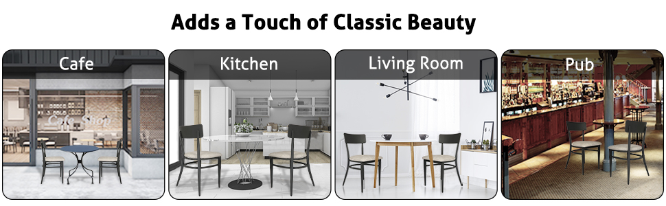Versatile Use of dining chair