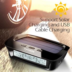 Solar power & USB charging