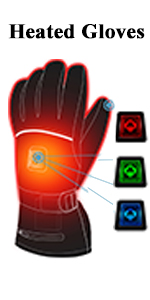 heated gloves men women gloves