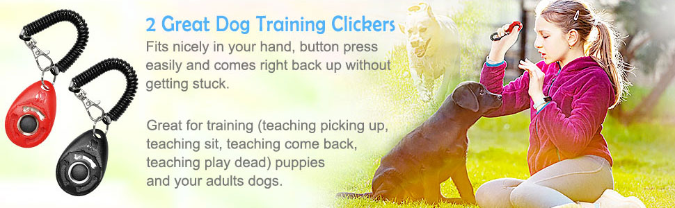 Dog Doorbells, 2 Great Dog Training Clickers