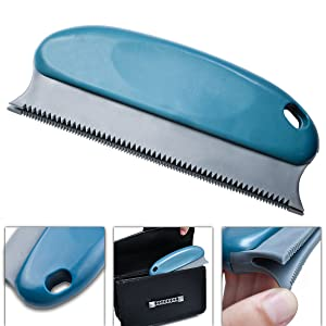 The details of pet hair remover brush