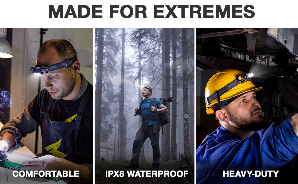led flashlights high lumens cascos de construccion herramientas de mecanica hard hat accessories