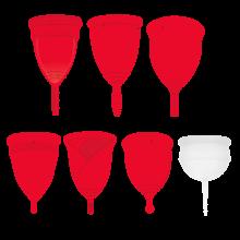 Copa Menstrual Sileu Cup Sport - Copa deportiva para deportes - Fácil de poner y quitar, suave e hipoalergénica - Recomendada por ginecólogos - Talla ...