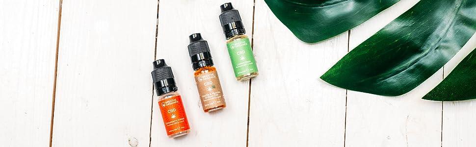 Breathe organics Premium CBD Liquid Banner Qualität