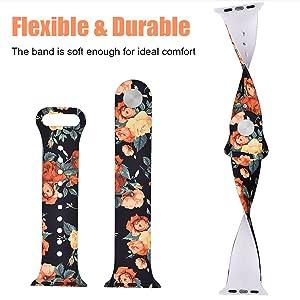 Flexible, strong, durable, comfortable, silicone, elastic, soft, bendable