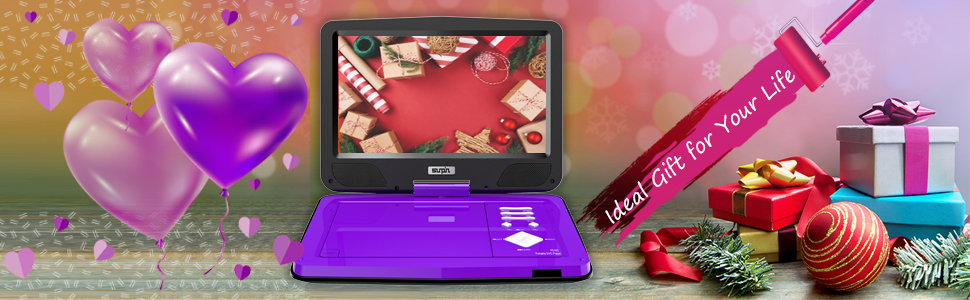 dvd player for kids father's day gifts black friday gift cyber Monday Christmas day's gift