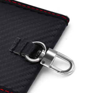 car security devices pedal lock dad car gifts metal-lined fabric protect lockbox