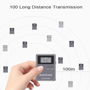 long transmission range