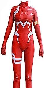 zero two darling in the franxx cosplay costume ichigo