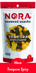 spicy tempura sushi snack