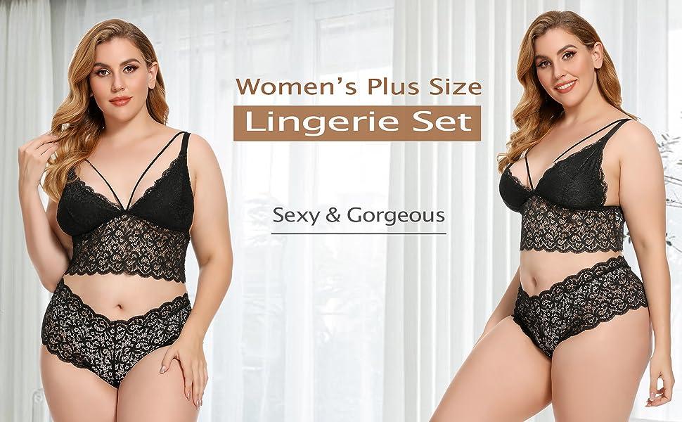 plus size lingerie for women