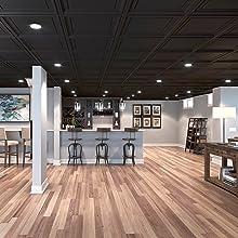 Black Coffer Genesis Ceiling Tiles