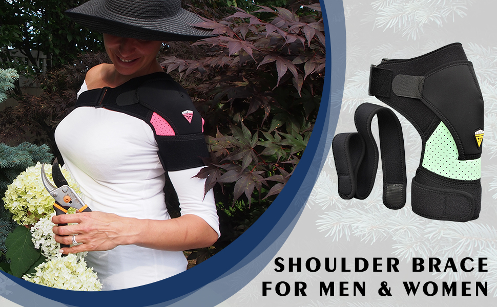 Optimize your posture with this shoulder brace