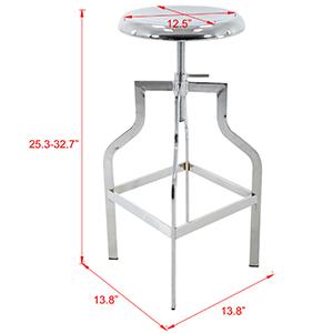 Apollo Adjustable Counter and Bar Stool