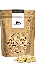 Sevenhills Wholefoods Manteca De Cacao Orgánico