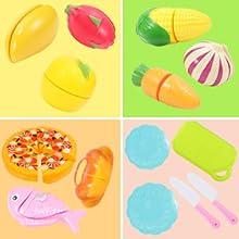 Realistic & Cute play food