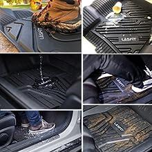 Custom Floor Mats Fit for 2014-2019 Toyota Highlander
