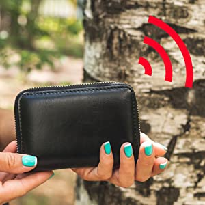 RFID Signal Blocker | Card Defender for Credit Debit Bank Cards | Protection from Skimming Attacks