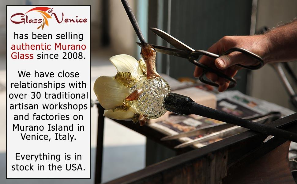 Glass Of Venice, GlassOfVenice, Murano Glass, Murano Glass jewelry, Venetian glass, Murano glassware