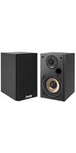Moukey 100 Watts Bookshelf Speakers (Pair) - 2.0 Near Field Audio Speakers
