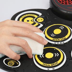 Waterproof drum pad