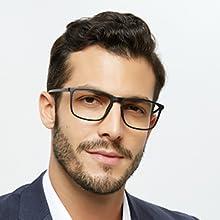 OCCI CHIARI Blue Light Blocking Reading Glasses Mens Reader 1.0 to 4.0