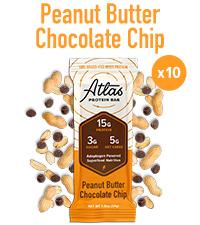 Peanut Butter Chocolate Chip Atlas Bar