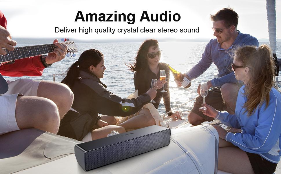 computer speaker bluetooth speaker for pc portable speaker wireless outdoor mini pc soundbar