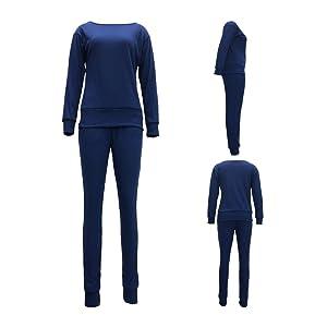 Royal Blue Sweatsuit