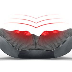 soothing heat therapy back massager